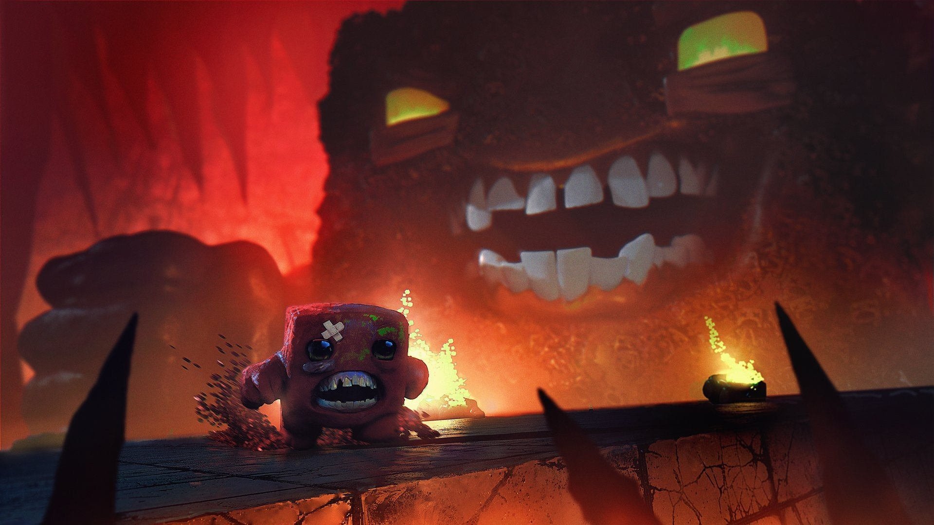 super meat boy forever computer wallpaper 72560
