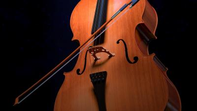 3D Cello Wallpaper 72342