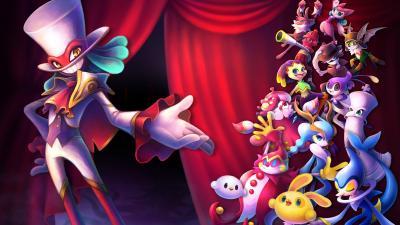 Balan Wonderworld Game Wallpaper 72413