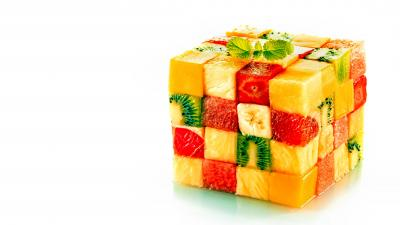 Food Cube Widescreen Wallpaper 70301
