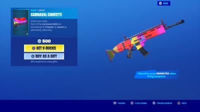 Fortnite Carnaval Confetti Wallpaper 70721