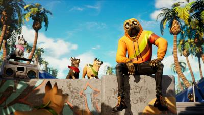 Fortnite Widescreen HD Wallpaper 72520