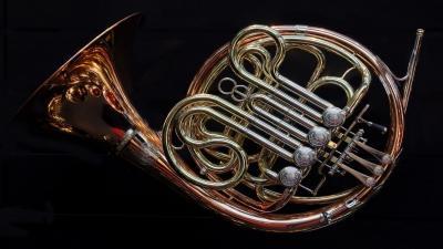 French Horn Wallpaper 72341