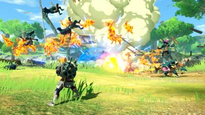 Hyrule Warriors Age of Calamity Gameplay Wallpaper 72515