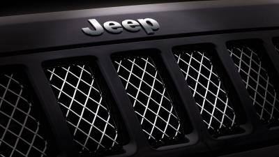Jeep Logo Hood Wallpaper 72701