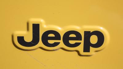 Yellow Jeep Logo Wallpaper 72702