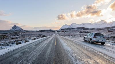 Cold Icy Road HD Wallpaper 72698