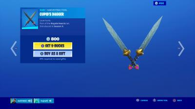 Fortnite Cupids Dagger Wallpaper 71220
