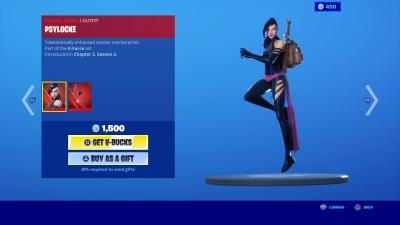 Fortnite Psylocke Wallpaper 71224
