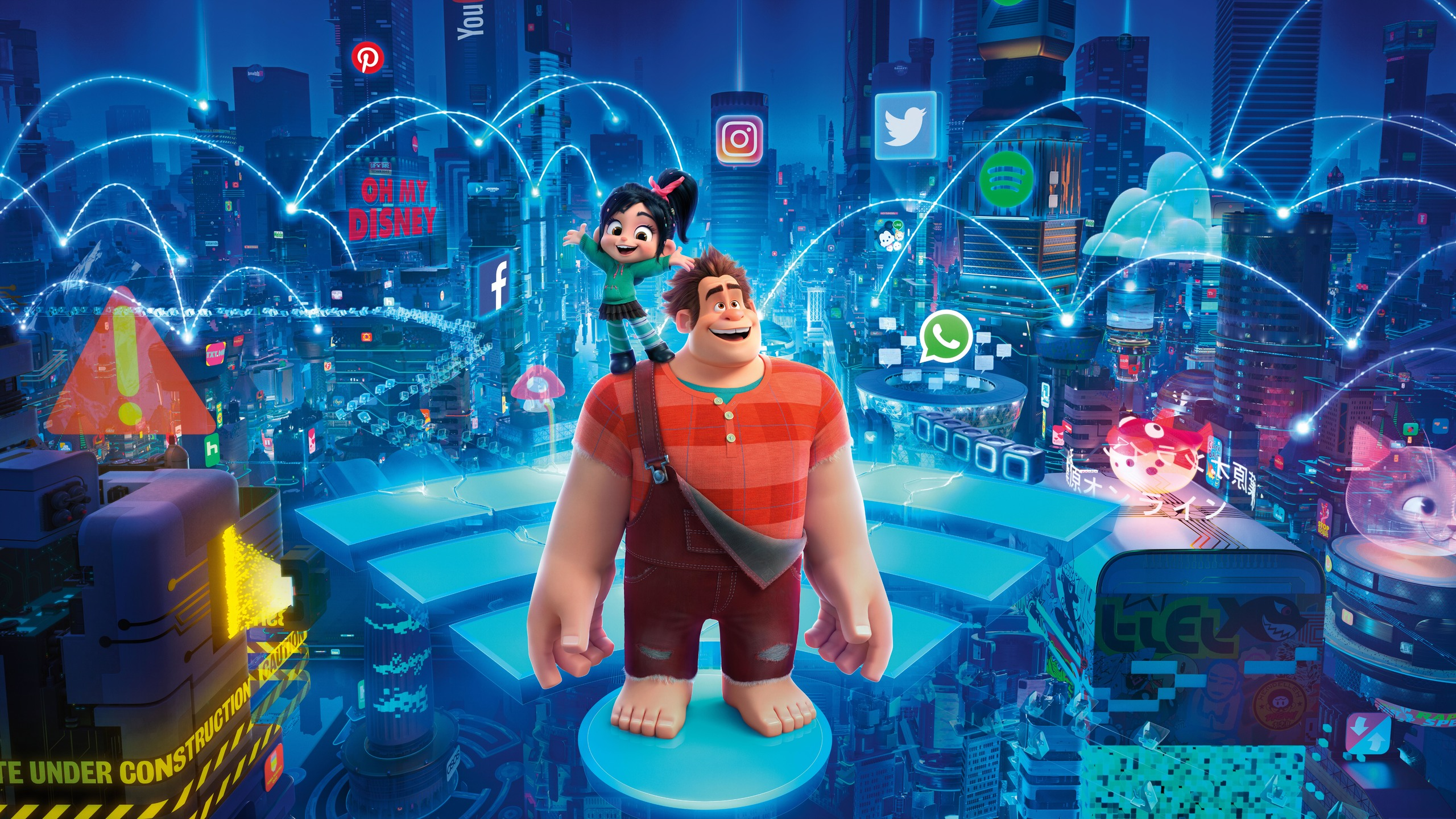 wreck it ralph breaks the internet wallpaper 70687