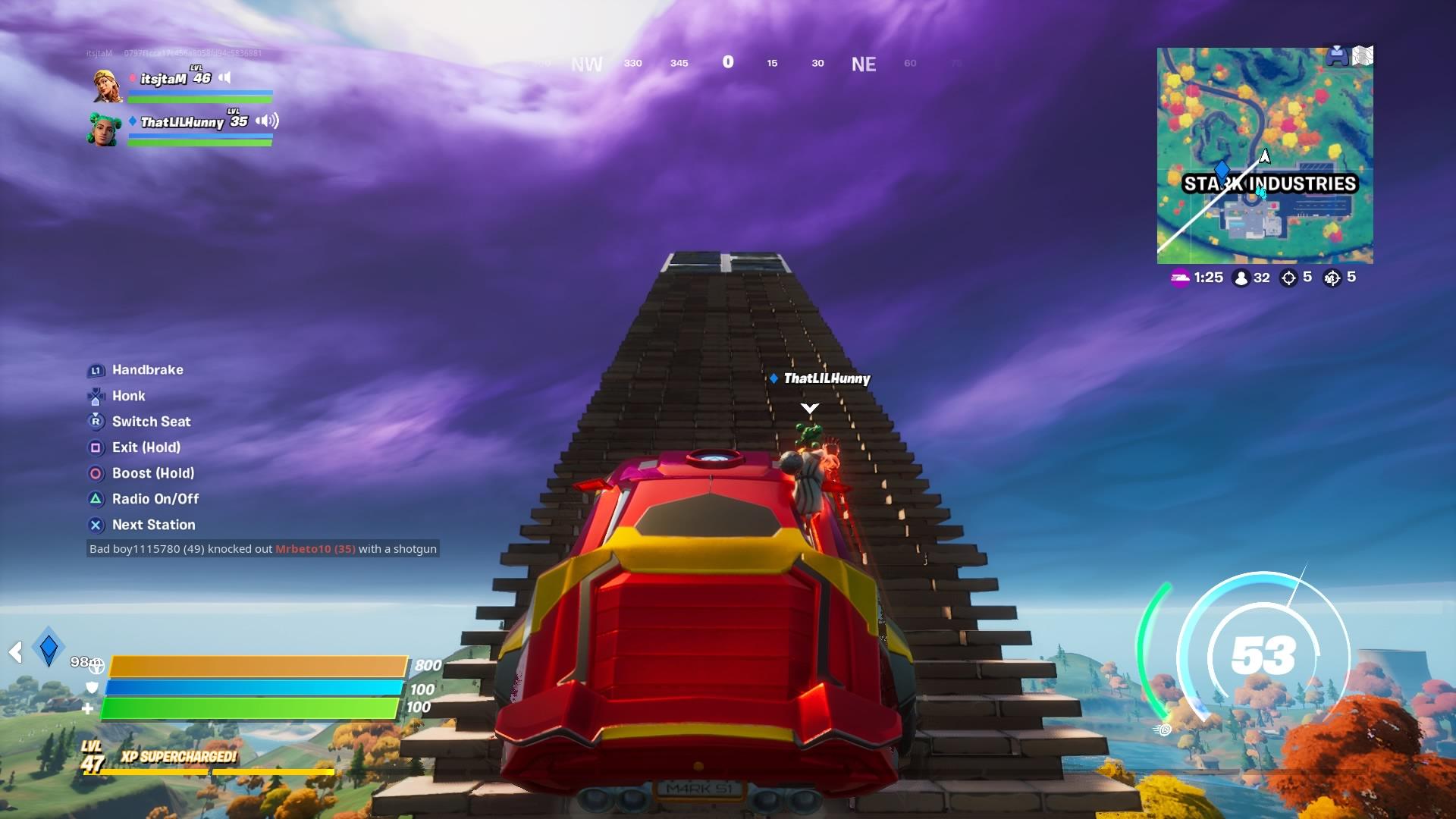 fortnite car jump wallpaper 71913