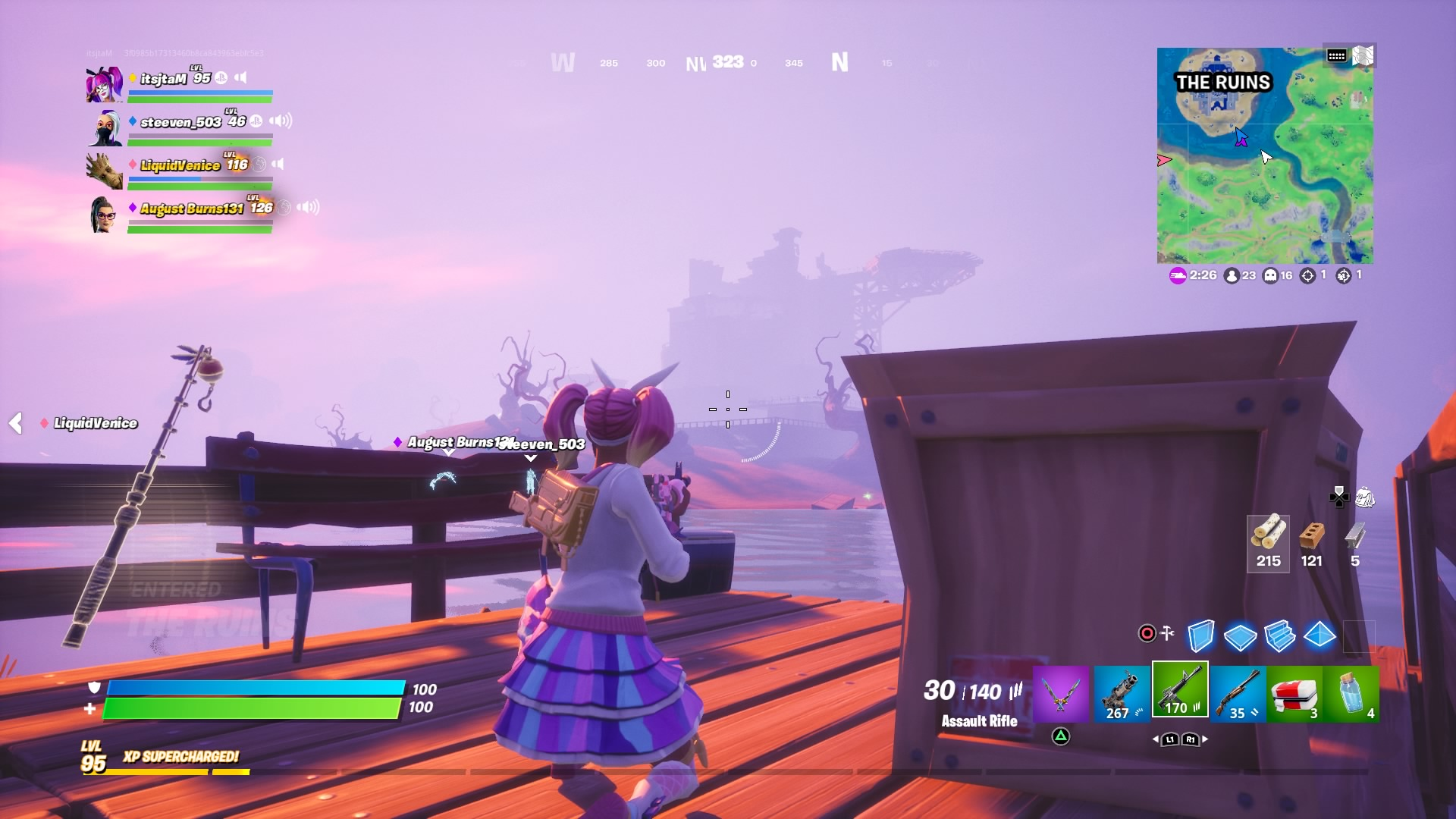 fortnite fog wallpaper 72122