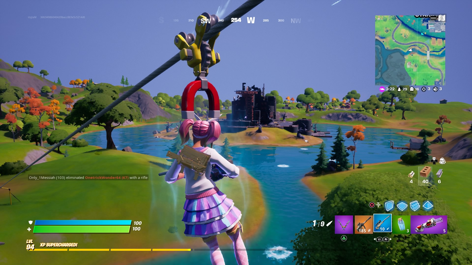 fortnite zipline wallpaper 72119