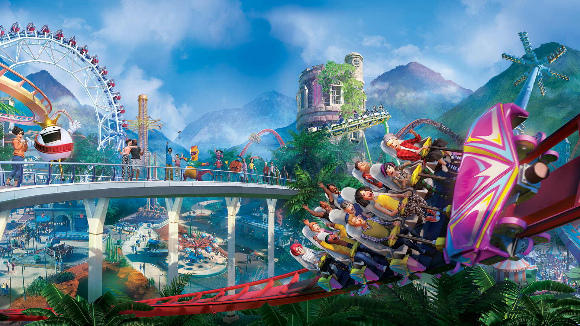 hd planet coaster wallpaper 72240