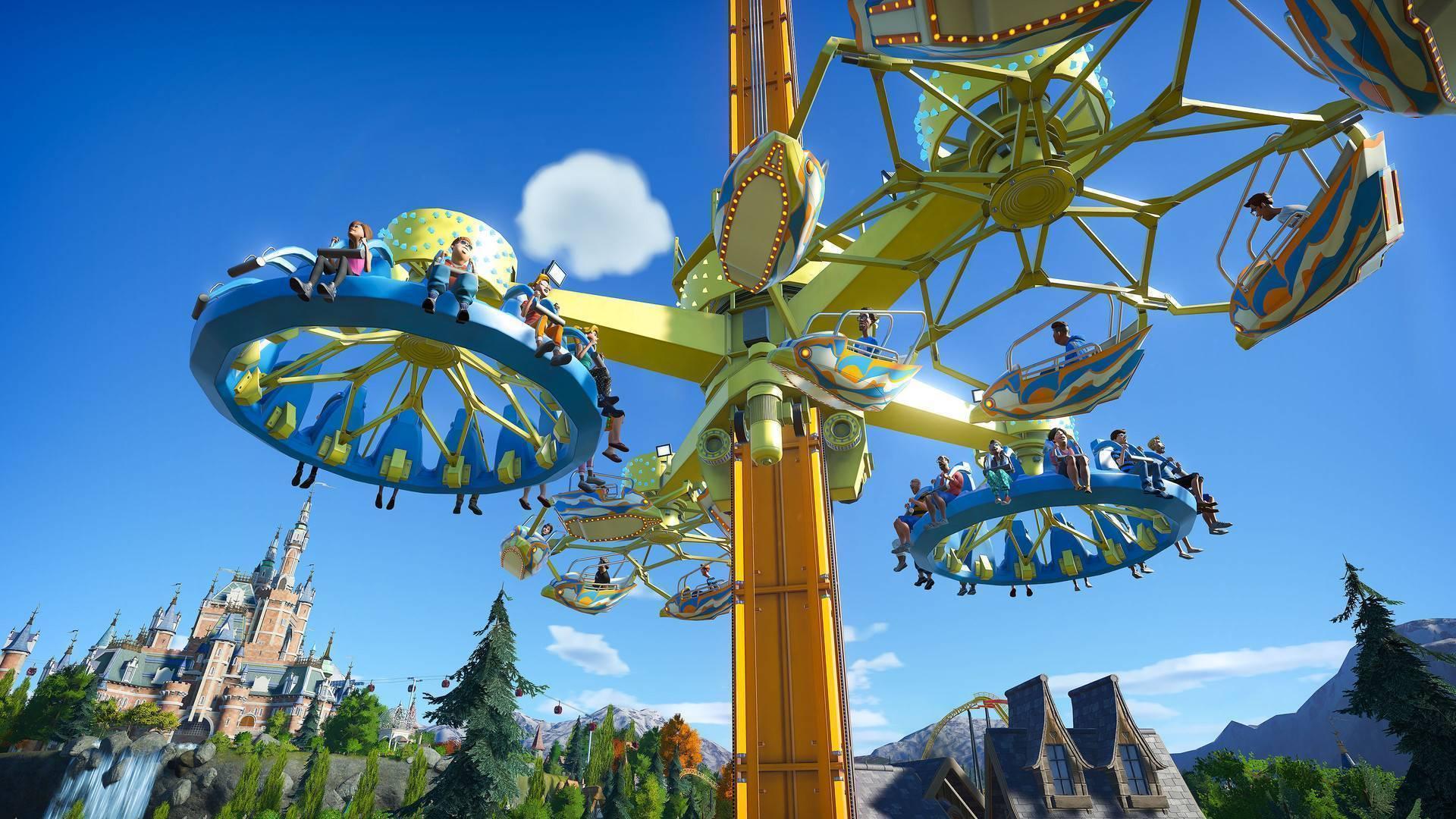planet coaster video game wallpaper 72237