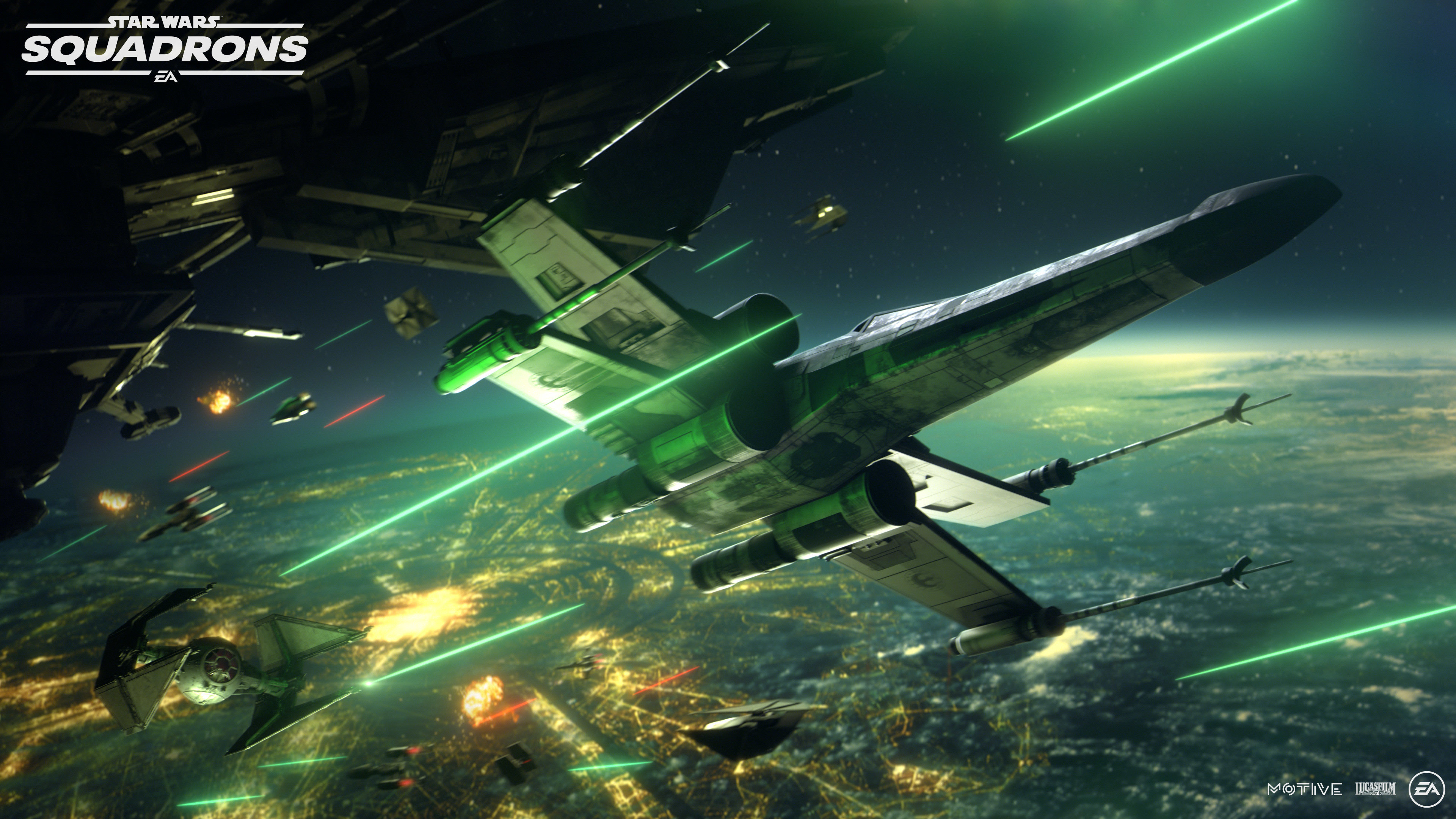 star wars squadrons wide wallpaper 72645