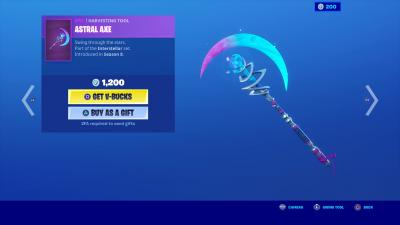 Fortnite Astral Axe Wallpaper 70131