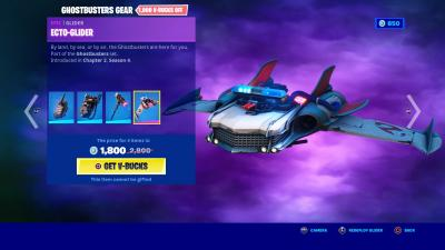 Fortnite Ecto Glider Wallpaper 72127