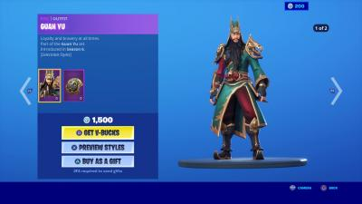 Fortnite Guan Yu Wallpaper 70140