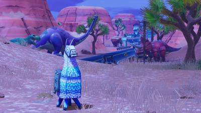 Fortnite Llama Background Wallpaper 71676