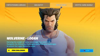 Fortnite Wolverine Logan Wallpaper 72112