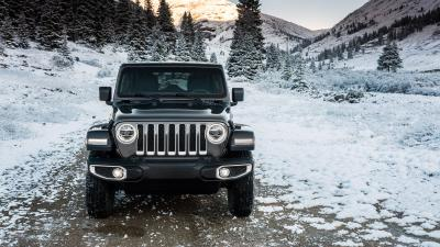 Jeep Wrangler Snow Background Wallpaper 70595
