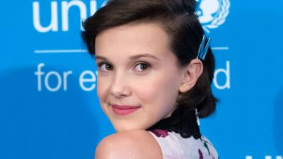 Millie Bobby Brown Face Wallpaper 71699