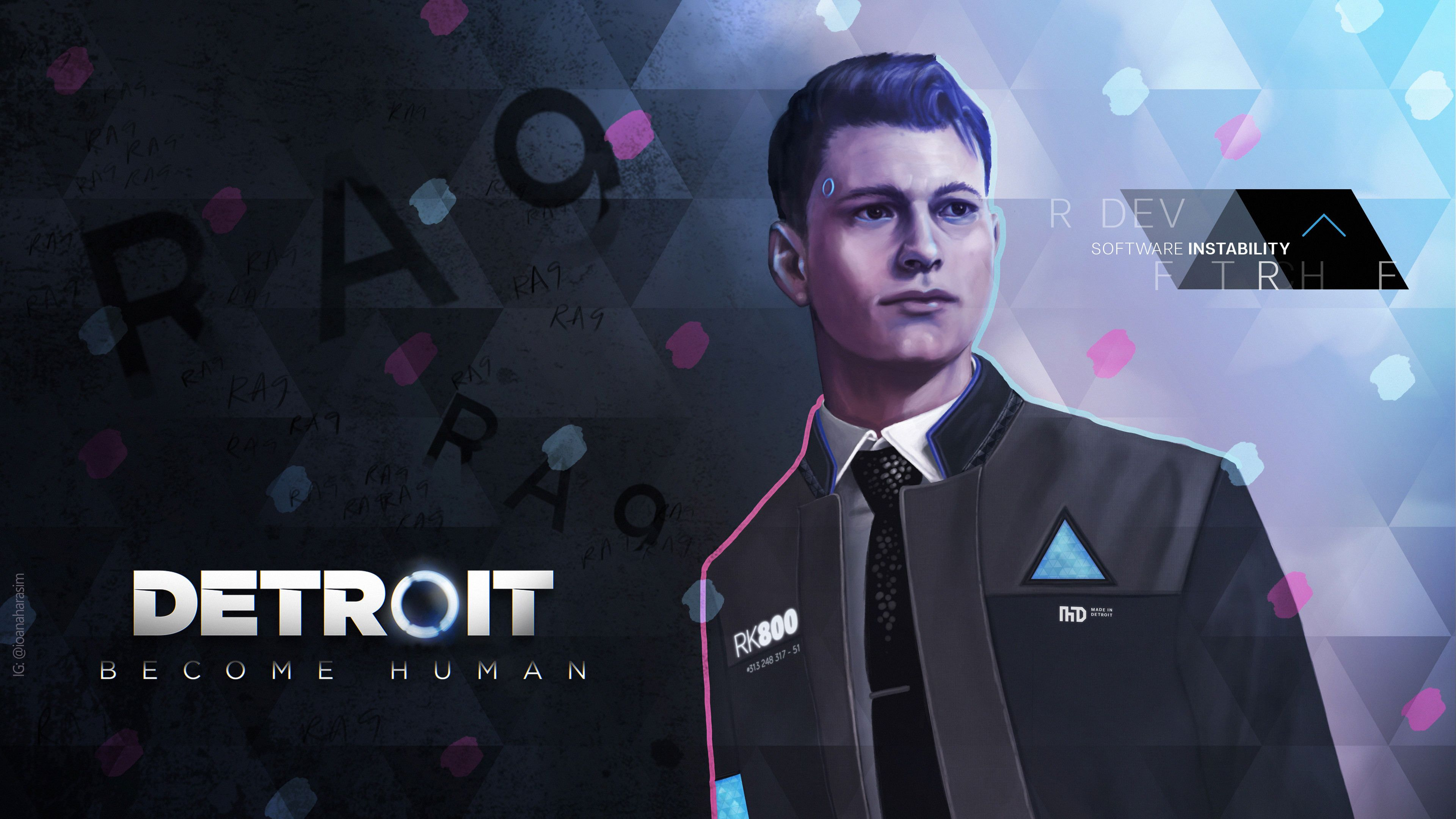 detroit become human background wallpaper 69955