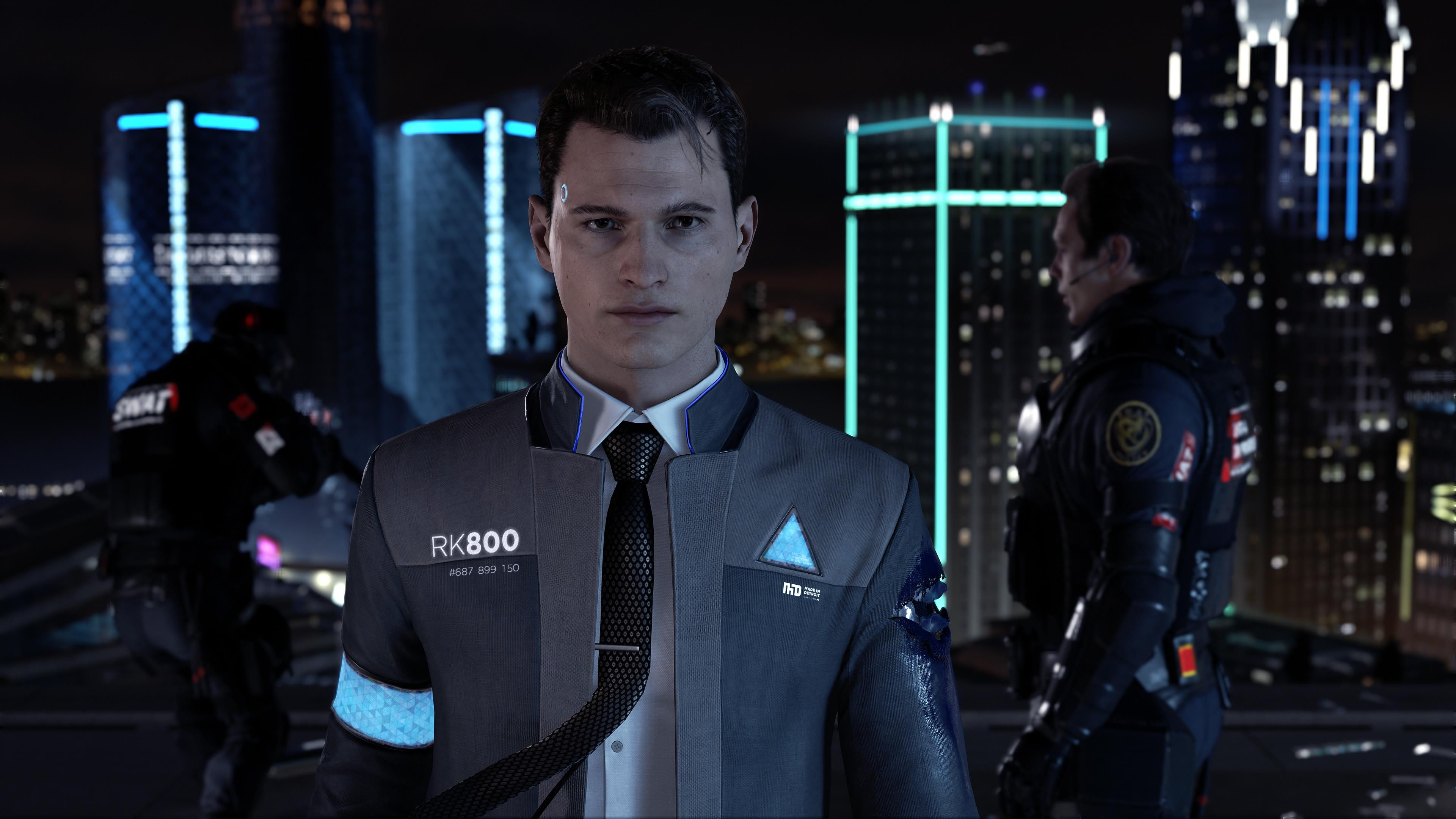 Detroit Become Human Wide Hd Wallpaper 69961 3840x2160px