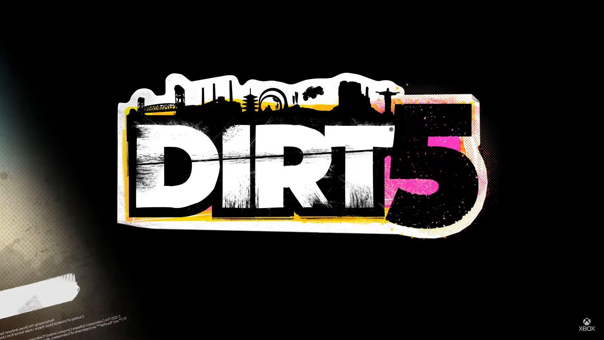 dirt 5 logo wallpaper 72465