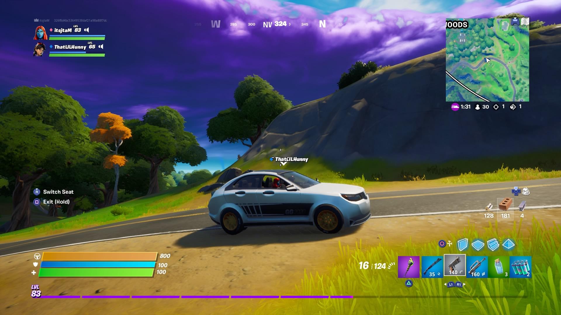fortnite driving wallpaper 72074