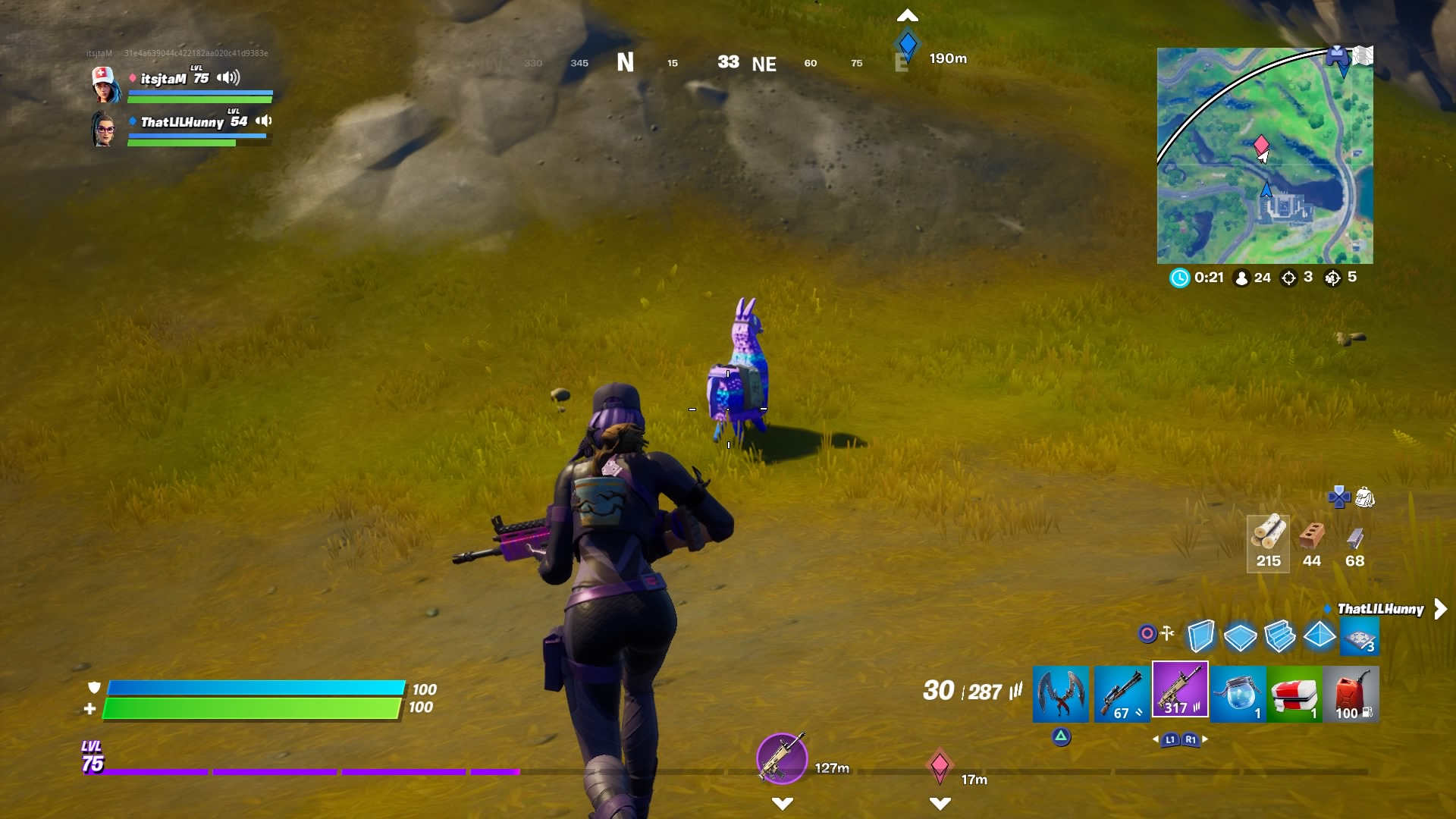 fortnite llama wallpaper 72054