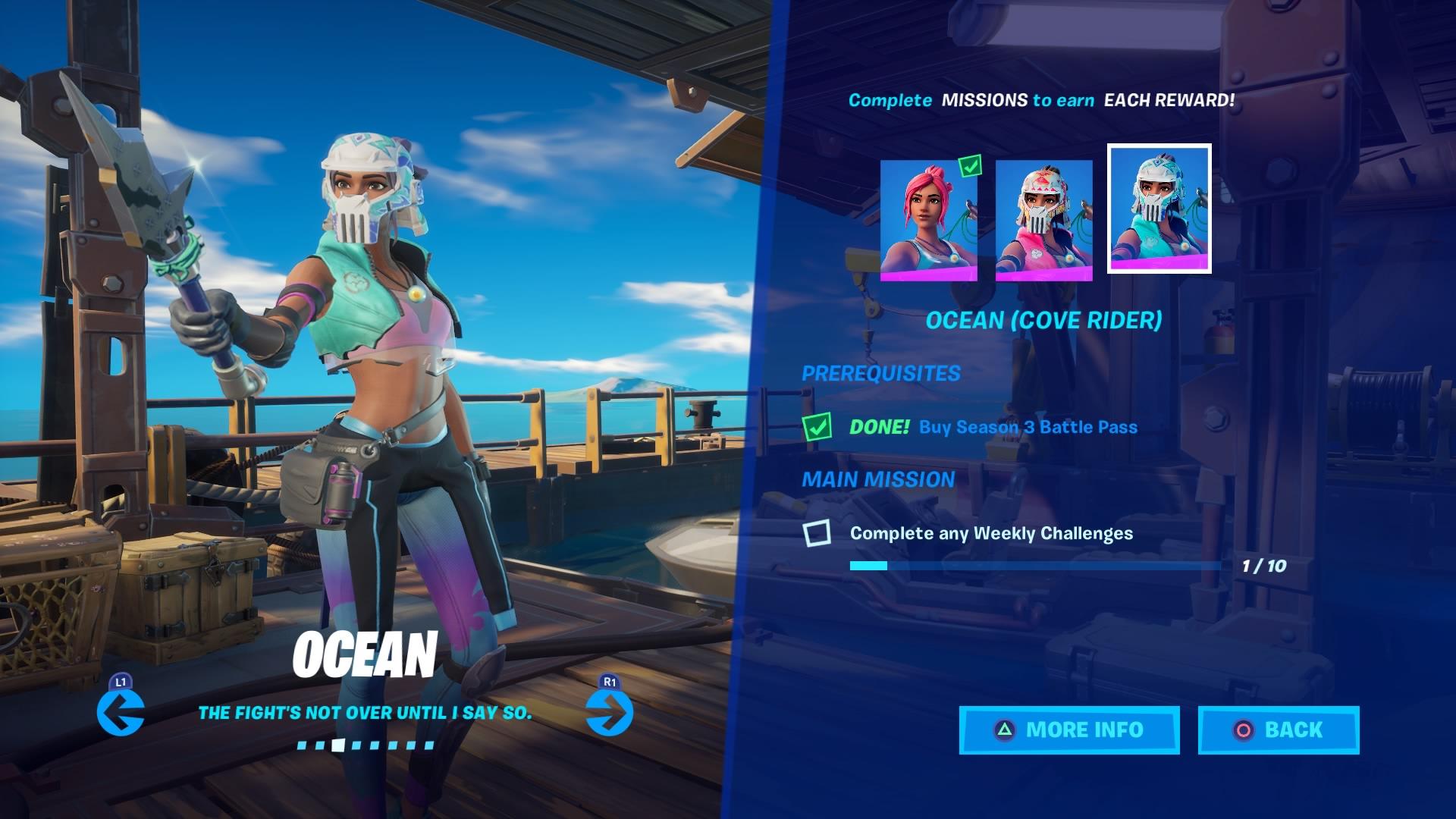 fortnite ocean cove rider wallpaper 71384