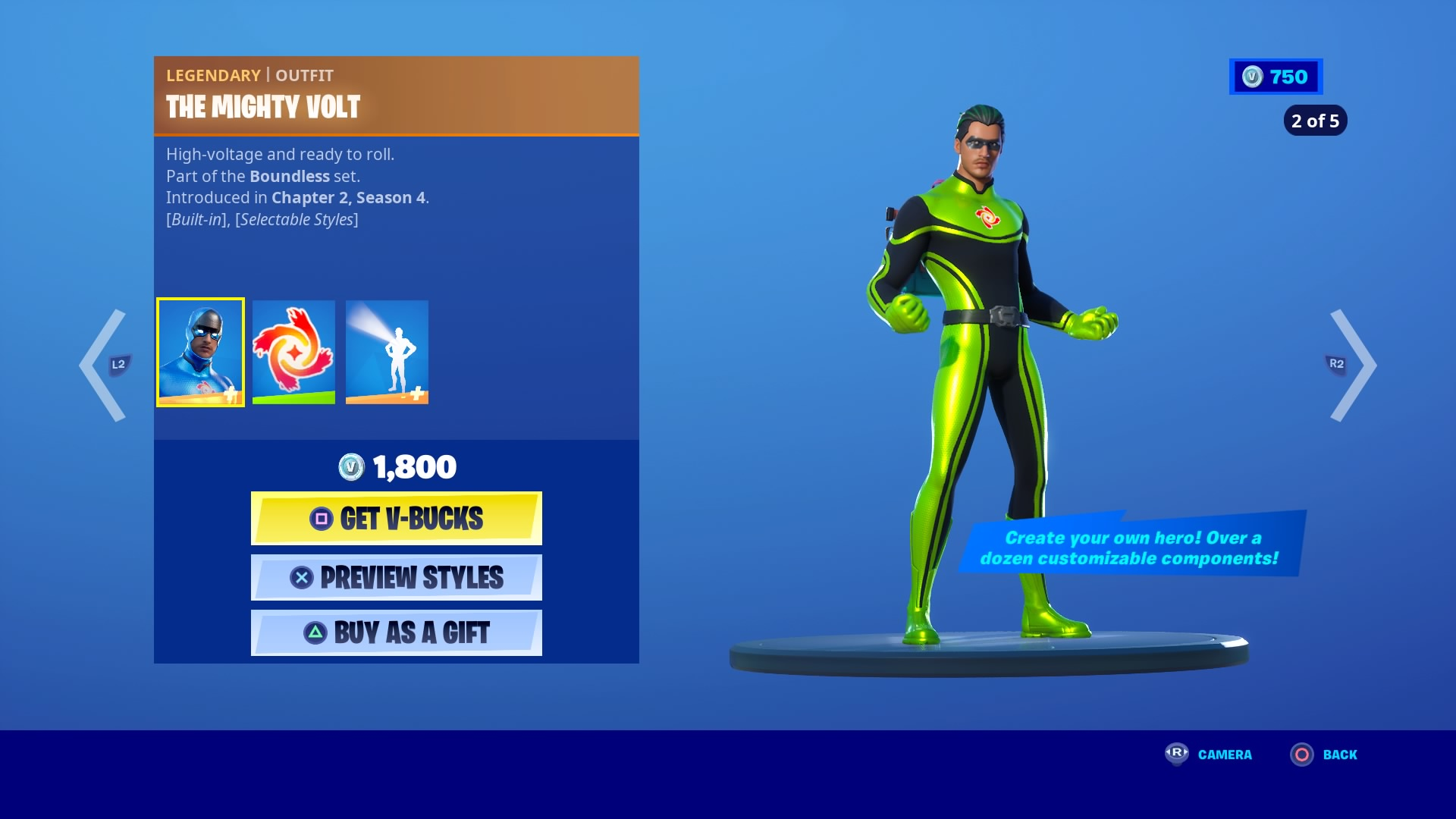 fortnite the mighty volt wallpaper 71859