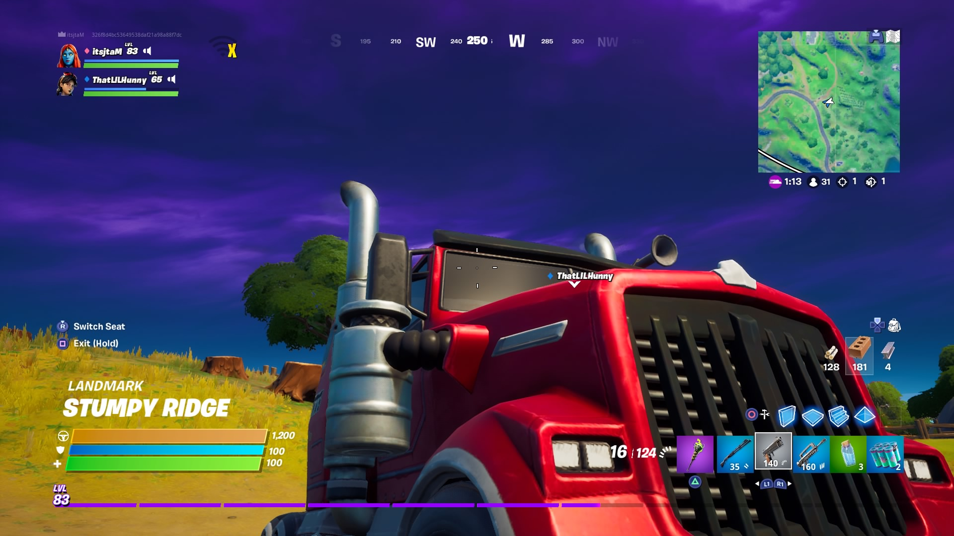 fortnite truck stumpy ridge wallpaper 72076