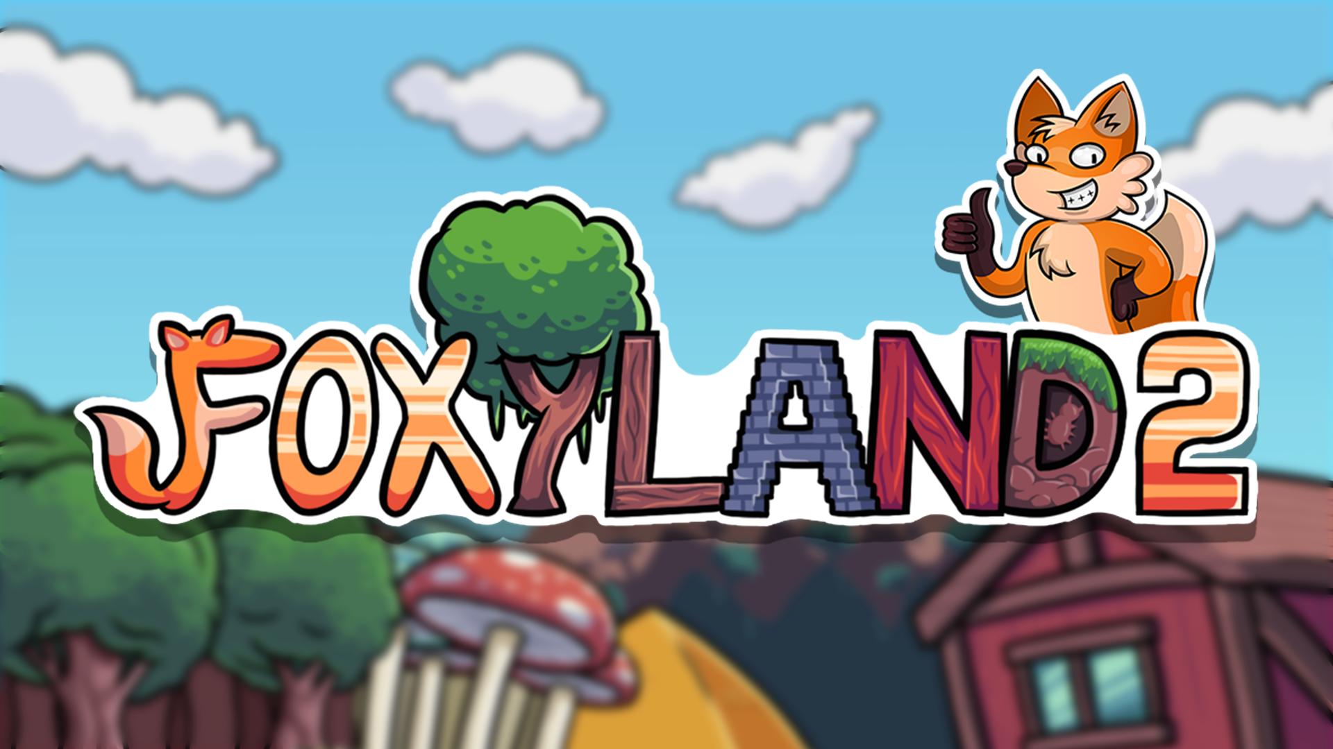 foxyland 2 logo wallpaper 69971