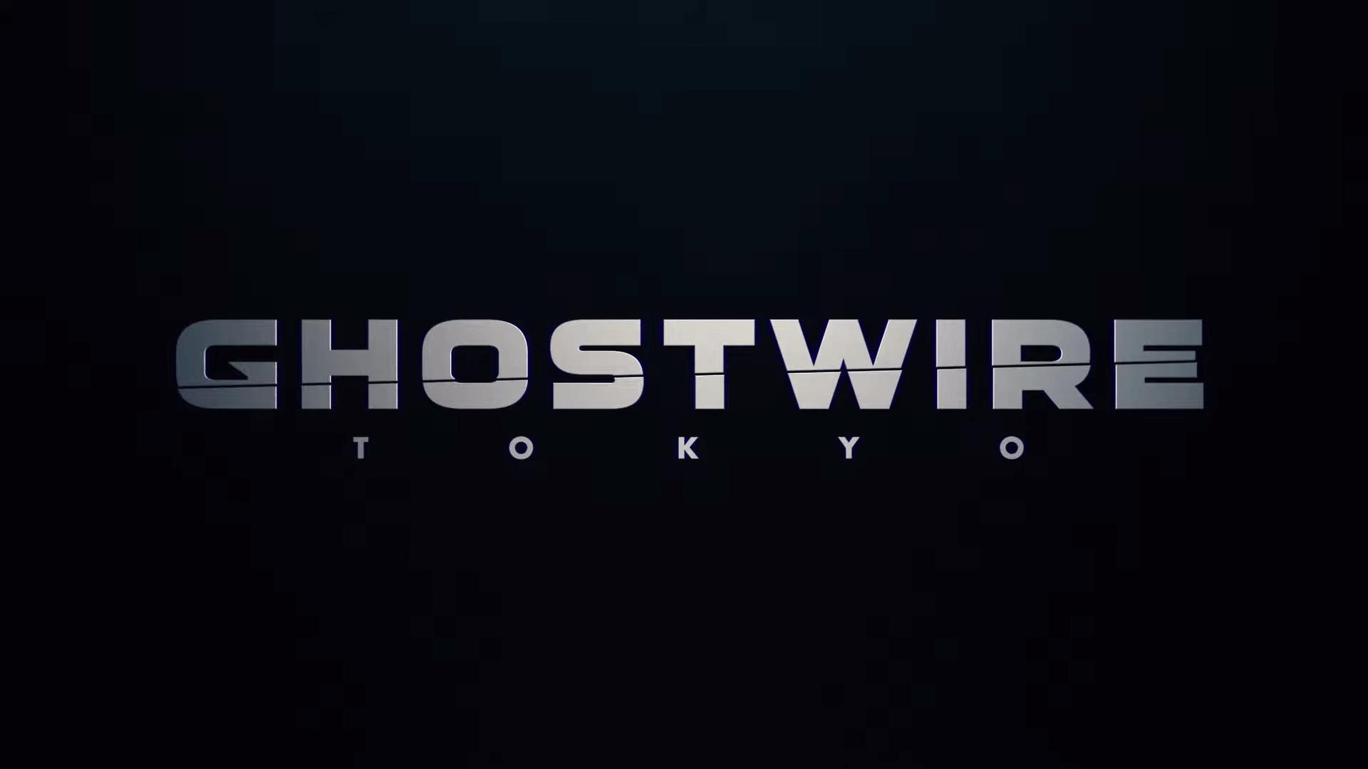 ghostwire tokyo logo wallpaper 72310