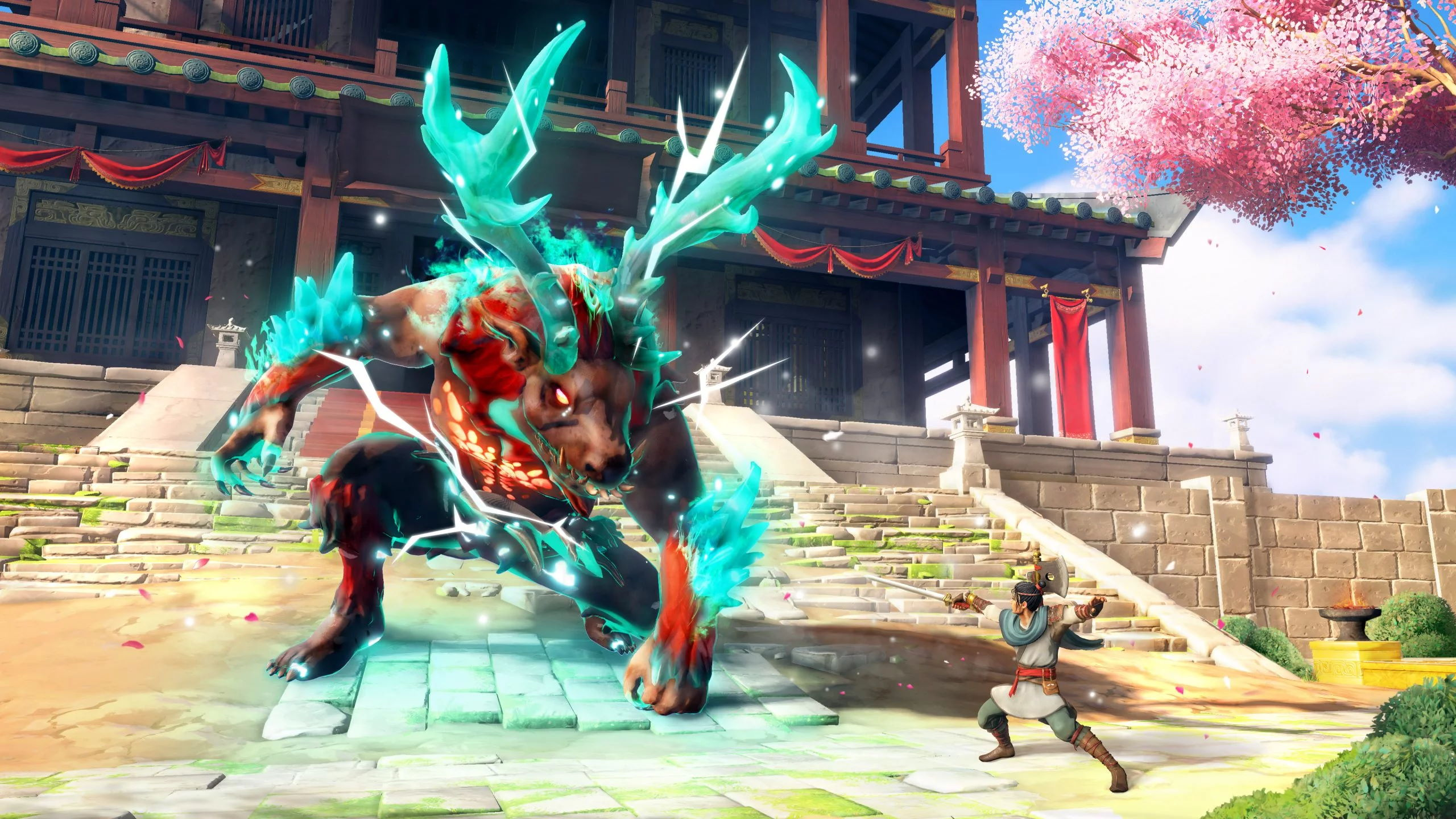 immortals fenyx rising game wallpaper 72439