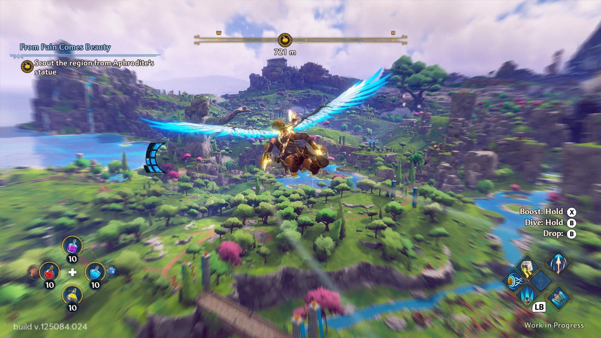 immortals fenyx rising screenshot wallpaper 72440