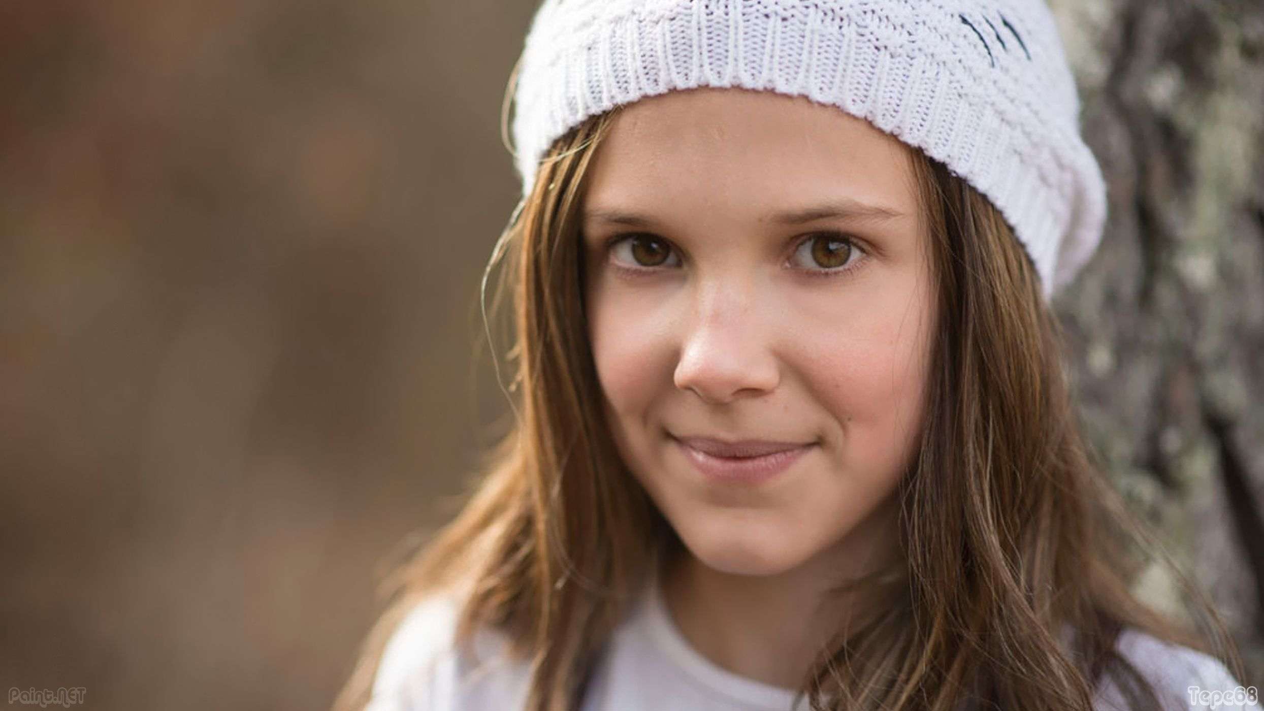 millie bobby brown beanie wallpaper 71723