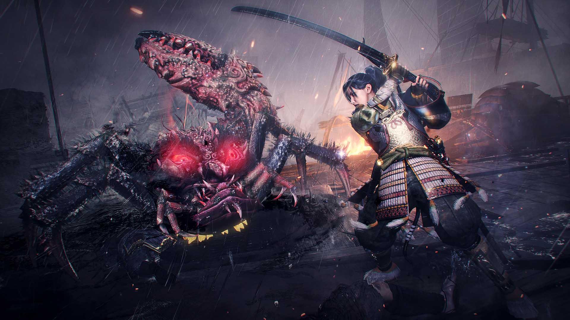 nioh 2 the first samurai wallpaper 72600