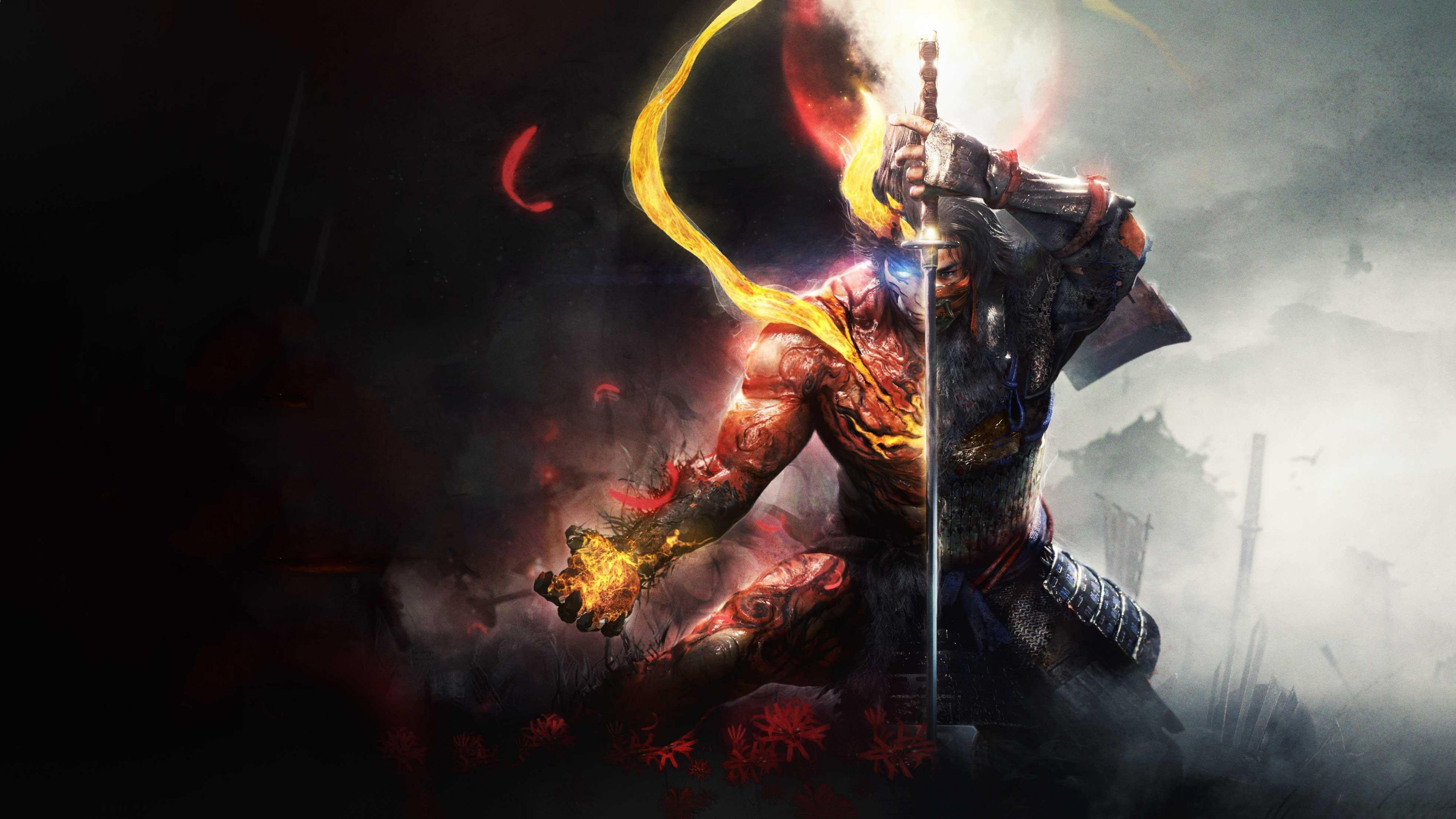nioh 2 the first samurai widescreen wallpaper 72596