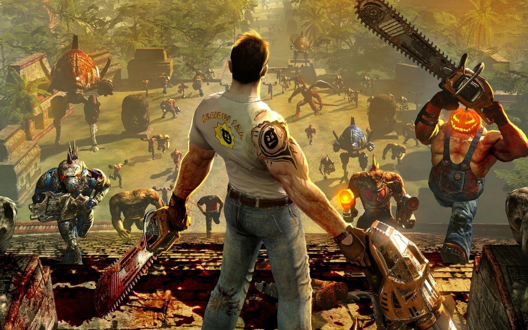serious sam computer wallpaper 71935