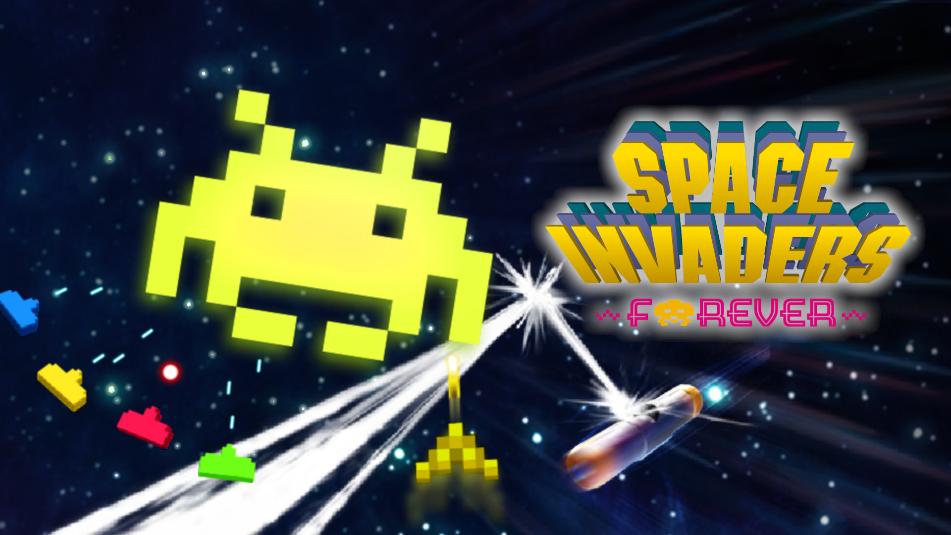 space invaders forever wallpaper 72620