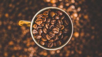 Coffee Beans Mug Wallpaper 70556