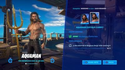 Fortnite Aquaman Arthur Curry Wallpaper 71388