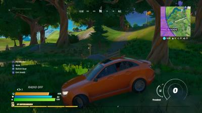 Fortnite Car Wallpaper 71485