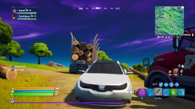 Fortnite Car Wallpaper 72075