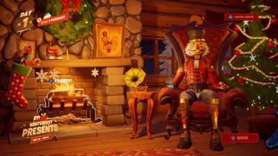 Fortnite Christmas Lodge Wallpaper 69902