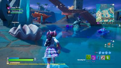 Fortnite Coral Castle Location Wallpaper 71472